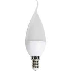 Cata - CATA 6 lı 5 Watt KIVRIK İnce E14 Duy Mum Buji Led Ampul