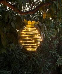 Lambax - Dekoratif Güneş Enerjili Solar Ananas Led