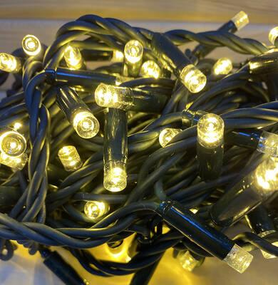 IP65 Dış Mekan Yeşil Kablolu Dekoratif İp Led Işık 10Mt