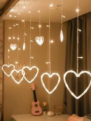 Lambax - Dekoratif Kalpli Saçak İp Perde Led Işık Aydınlatma Günışığı