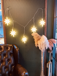Lambax - Dekoratif Kutup Yıldızı Saçak Perde Led Işık
