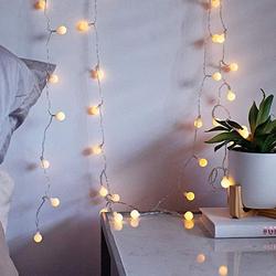 Lambax - Dekoratif Pilli Mini Ledli Top Süs İp Led Işık Aydınlatma Günışığı