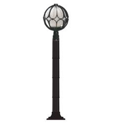 Lambax - Papatya Plastik Direkli Bahçe Armatürü - Bahçe Lambası