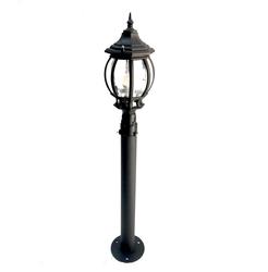Lambax - Sekizgen Direkli Bahçe Armatürü - Bahçe Lambası